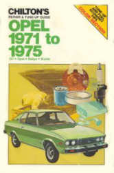 Chilton´s Opel Repair & Tune-up Guide 1971-1975