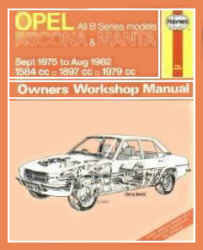 Opel Ascona & Manta (B Series) (Sept 1975 to Aug 1982)  Owners Workshop Manual