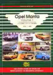 Opel Manta Volume 1 Roadtest Articles Adverts 1970 to 1988